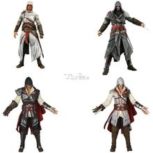 "Neca 7"" Assassins Creed Altair Ezio Action Figure PVC Doll Model Statue Collectible Game Toy Gift"