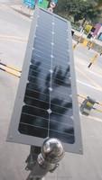 solar housing solar street light 30w 40AH motion sensor led automotive lighting