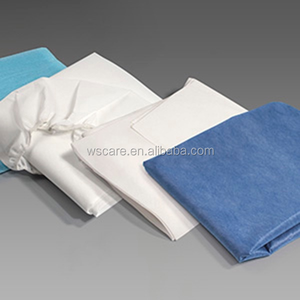 Disposable Sheets For Hotels: Bed Cover Sheets,Disposable Polypropylene Fitted Stretcher