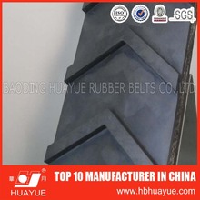 Rubber ribbed V pattern chevron rubber belts for industry