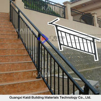 Rust Proof Outdoor Metal Handrail for Steps
