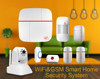 Worldwide delivery hot selling wifi burglar alarm system & APP control Wireless GSM security home alarm system smart useage