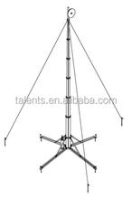 wireless antenna rotator,3 legged steel tower for antennas