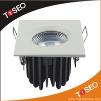 IP65 bathroom 10w Fire-rated leds ceiling light