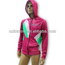 Custom thick fleece hoodie