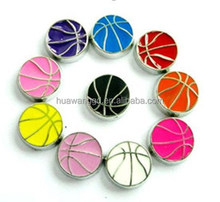 Basketball Floating Lockets Charms Fit Floating Lockets for wholesale