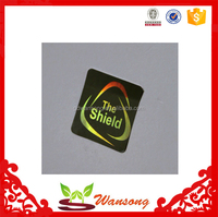Waterproof Feature and Accept Custom Order 3d hologram sticker , 3d hologram pictures with serial number