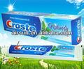 Fabricante expresiones naturales pasta de dientes Croste