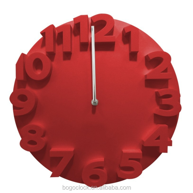 Creative 3d Wall Clock Different Shape For Home Decor