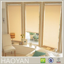 Sunscreen window treatments with kind of curtains