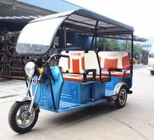 3 Wheel rickshaw for passenger with waterproof canvas /auto E-rickshaw /electric three-wheeled / popular in India/
