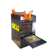 Desktop manual tray/cup/bow sealer