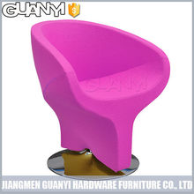 colorful cheap barber chair with whirl pillar