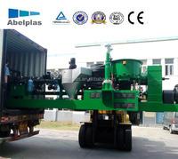 high performance plastic recycling granulator price, plastic recycling granulating production line