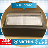 sample free of charge 5700k 80w led cul dlc listed led outdoor light adjustable wall mounted lamp, led dimming sensor light, new