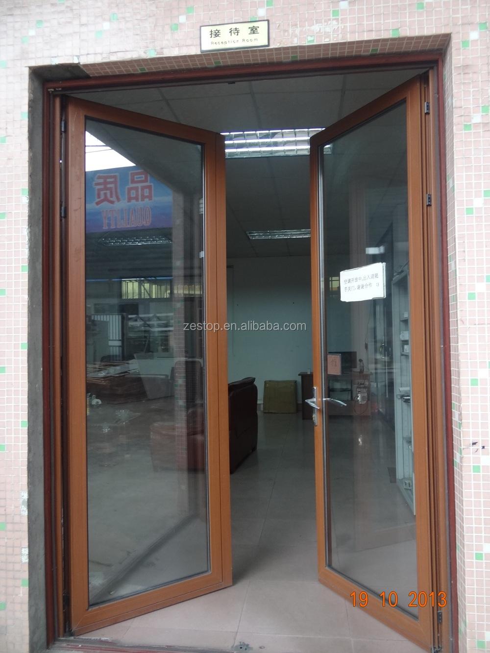 Laminate Glass Aluminium Commercial Front Double Door Designs Buy Door Designs Commercial