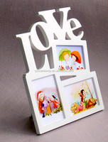 Love Family tree metal wooden collage photo frames