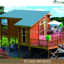 rotproof wooden professional anti aging bunk houses for sale