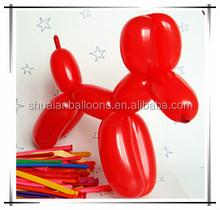 Christmas onament long balloon decorations