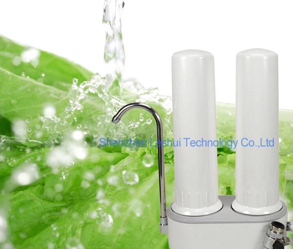 Countertop Alkaline Water Filter : Stage Plastic Counter Top Alkaline Water System Ceramic Water Filter ...