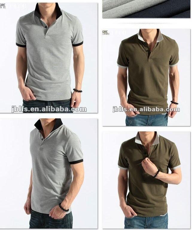 2012 summer new design Korean mens short sleeves polo shirt