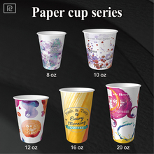 K-P 90mm disposable coffee paper cup with lids