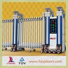 Factory price single column electric folding sliding gate design