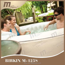 Inflatable portable bubble spa / whirlpool tub / spa pool MSpa Birkin M-123S 6 person
