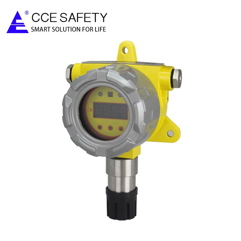 QB2000N 페인트 룸 보안 사용 고정 C7H8 가스 누출 감지기 4-20 미리암페르하우어 또는 RS485 출력
