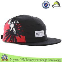 manera de la venta caliente 5 panel de sombrero sombrerería