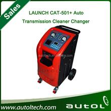 Trocador de lançamento CAT-501 + ATF transmissão automática Fush apoio máquina semi automática óleo de limpeza totalmente automática e carregamento