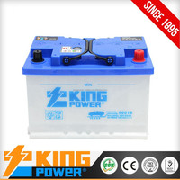 12V Rechargeable Car Battery 66AH made in china dry charged car battery 56618