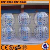 High quality tpu/pvc human inflatable bumper bubble ball