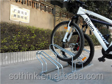2015 Hot Sale Floor Mounted Bicycle Parkig Rack Outdoor Bike Racks