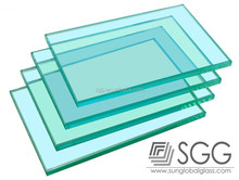 CE certification commercial building glass thickness from 3mm to 19mm