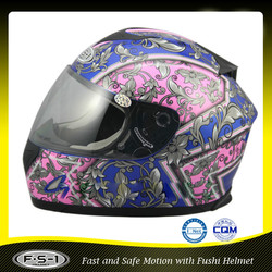 ECE motorcycle accessories China factory full face helmet