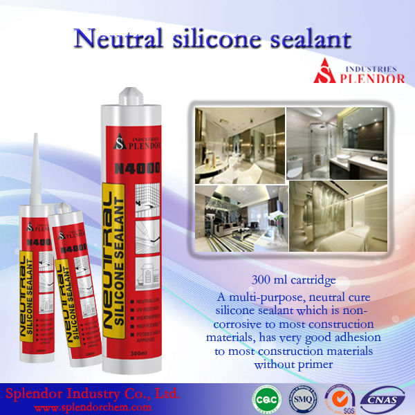 Superduty structural silicone sealant; construction acrylic; weather-proof acrylic sealant