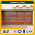 eléctrica de madera puerta de garaje