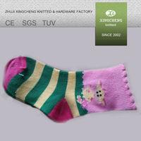 socks XC 601 rubber sole organic cotton baby socks shoes
