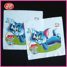 Cat And Mouse Printed Happy Cleaning Mobile/Eyeglasses Microfiber Cloth