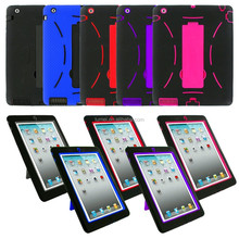 2 in 1 Armor Hybrid Case Cover Stand for Apple iPad 2 3 4 & Air 1 2 & Mini 1 2 3