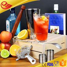 andorra Hot Sales colorful cocktail & shaker bar set