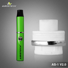 In stock wax heating machine purify the dust in ceramic coil atomizer 510 thread battery