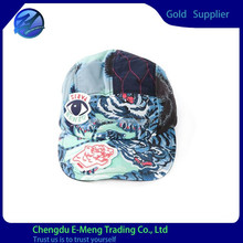 Top Quality New Stylish Mens Full Printing Snapback Hats with 5 Panel