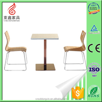 alibaba china supplier restaurant hideaway dining table and chair set