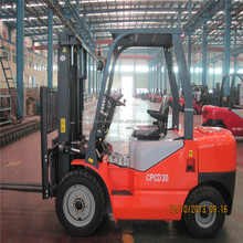 Luoyang 3ton diesel tail fork lift truck CPCD30