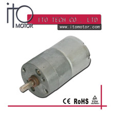 dc geared 6v motor low rpm / 12v high torque small motors / 25mm gear reduction electric motor