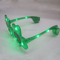 Led clover glasses for event decoration
