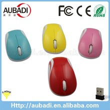 new arrival oem optical 2.4g mini wireless mause custom branded mouse
