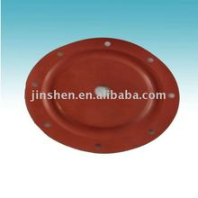red silicone diaphragm used in pump and valve with competitve prices